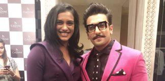 Ranveer has 'fan moment' on meeting P.V. Sindhu