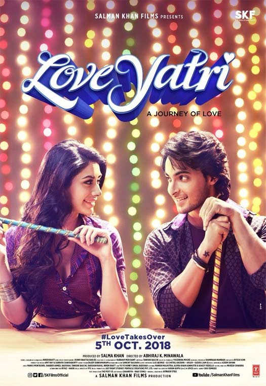 Salman Khan Unveils The New Title Of Aayush Sharma & Warina Hussain's Loveratri!