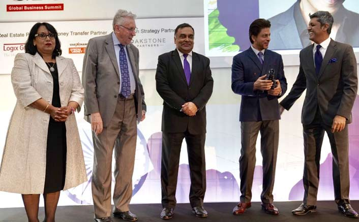 Shah Rukh Khan Graces the India-UK business summit in London