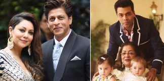SRK, Gauri are Godparents to KJo's kids