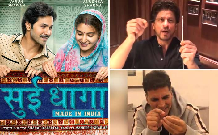 Sui Dhaaga Challenge: Shah Rukh Khan Conquers and How!