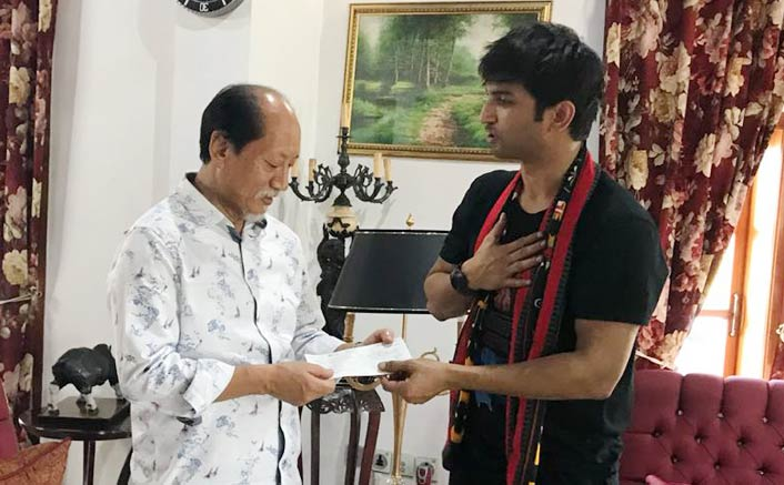 Sushant Singh Rajput visits flood affected areas of Nagaland