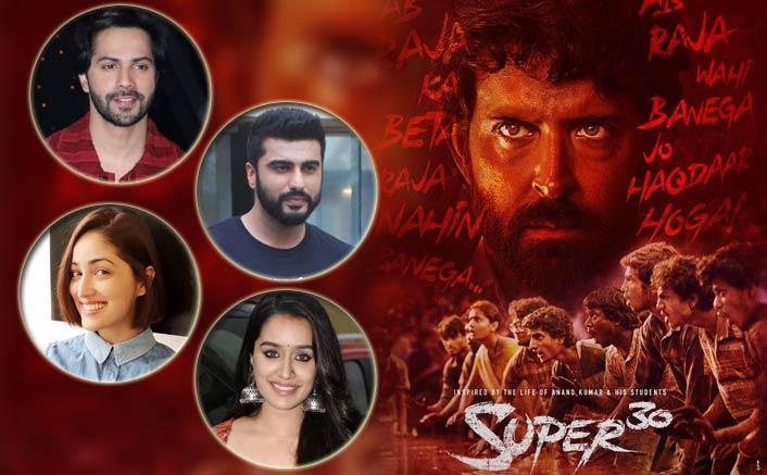 Varun Dhawan, Arjun Kapoor, Yami Gautam and others gives a thumbs up to Super 30!