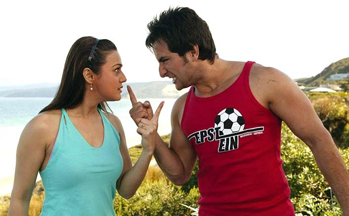 When Preity Zinta fought with Saif Ali Khan
