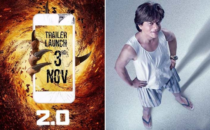 2.0 Trailer On 3rd November, A Day After Zero Trailer; Who Are You Backing - Shah Rukh Khan Or Akshay Kumar?
