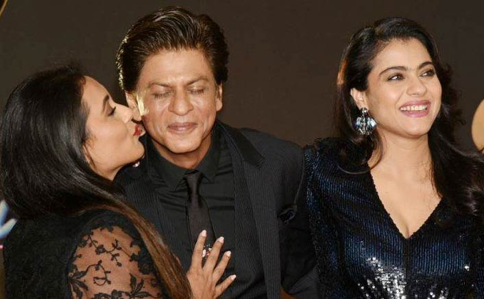 20 Years Of Kuch Kuch Hota Hai: Kajol And Rani Mukerji KISSES Shah Rukh Khan
