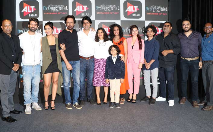 ALTBalaji Launches the Trailer of it's Much Awaited Show The Great Indian Dysfunctional Family