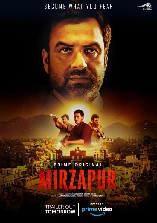 Amazon Prime Video Original's 'Mirzapur' trailer out tomorrow!