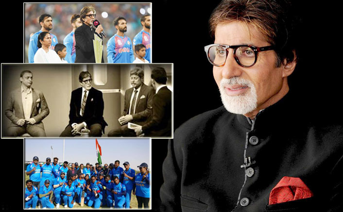 Amitabh Bachchan and Cricket; Happy birthday to our megastar