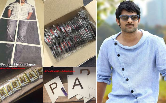 Fans in Japan to organise a special event on account of Prabhas' birthday
