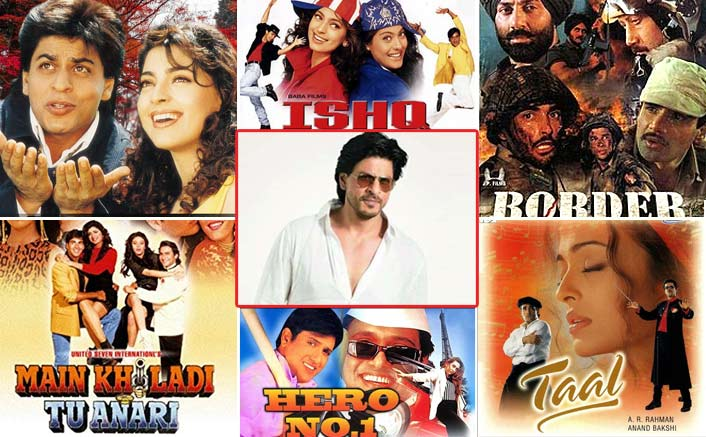 From Ishq, Main Khiladi Tu Anari To Jaan-E-Mann: 23 Films For Which Shah Rukh Khan Was The FIRST Choice!