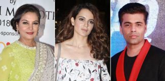 Kangana Ranaut CALLS OUT Karan Johar, Shabana Azmi to SPEAK UP about #MeToo