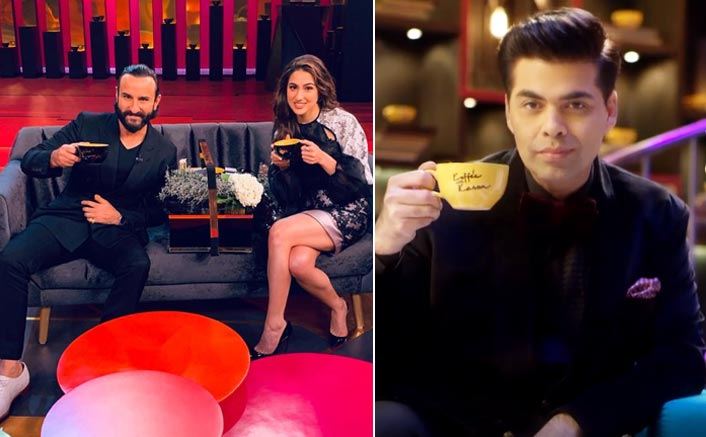 Saif, daughter Sara to appear together in 'Koffee with Karan'