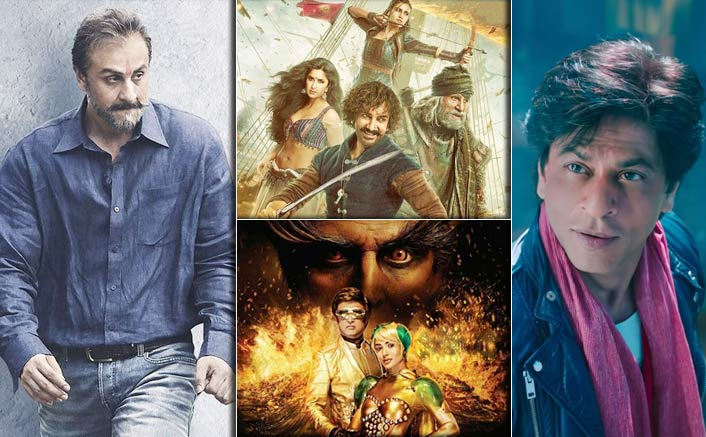 Sanju's 34.75 Crores Vs Thugs Of Hindostan, 2.0 & Zero; Who Will Emerge As A Biggest Opener Of 2018?