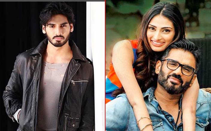 Never give up: Suniel tells son Ahan Shetty