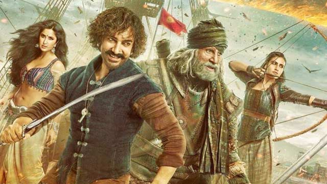 Thugs Of Hindostan full movie leaked online