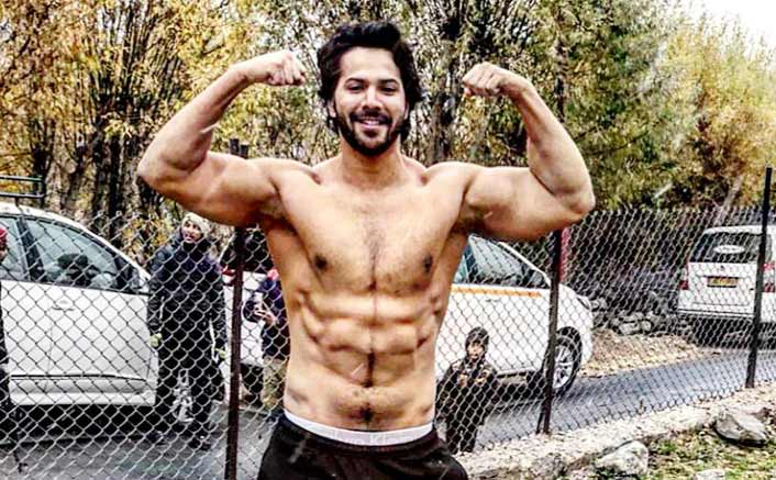 Varun Dhawan shot a scene bare-chested at minus-three-degree temperature