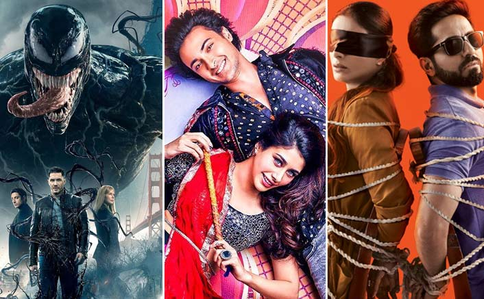Venom, LoveYatri and AndhaDhun On The Box-Office Prediction Scale!