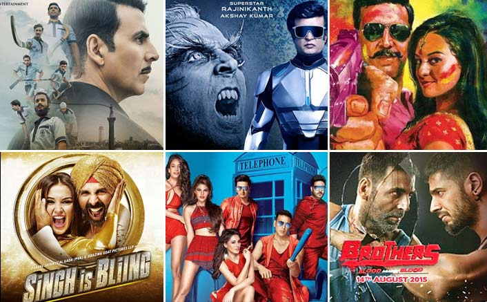 2.0 Box Office Day 1: 20.25 Crores Vs Top 5 Opening Movies Of Akshay Kumar