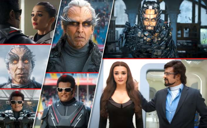 2.0 Trailer OUT! Undoubtedly, The GRANDEST Looking Indian Film With Otherworldly VFX