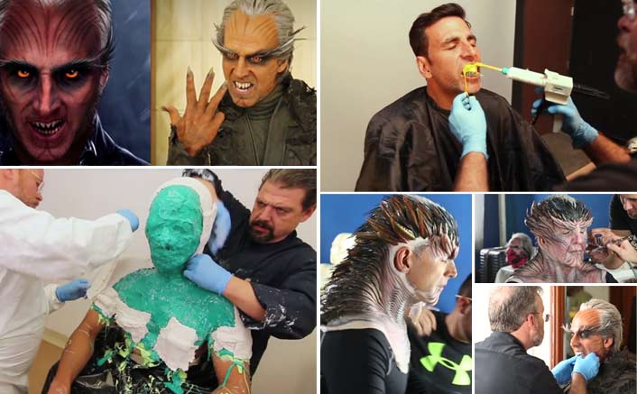 2.0 Video: This Is How Akshay Kumar Achieved His Look; It'll Enthrall You!