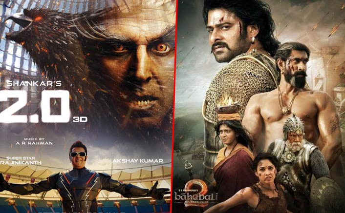 2.0 VS Baahubali 2 Box Office: 7 Day Total Comparison – Clash Of The EPICS!