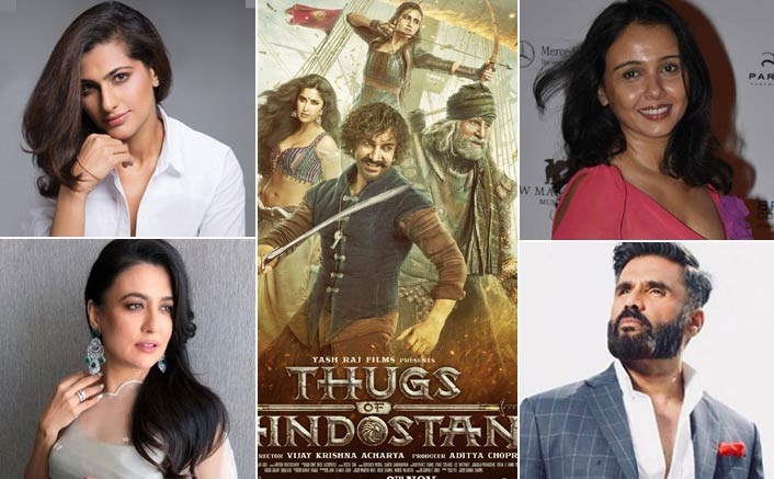 Thugs Of Hindostan - A Thumbs Up Or Down: Suniel Shetty, Kubbra Sait & Celebs Pick Their Sides!