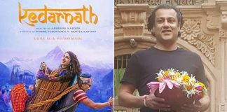 Ahead of trailer launch, Kedarnath director Abhishek Kapoor visits Shiv temple
