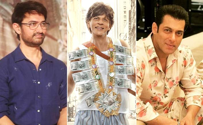 All Hopes On Shah Rukh Khan' Zero As Both Salman Khan & Aamir Khan Dissapoints In 2018