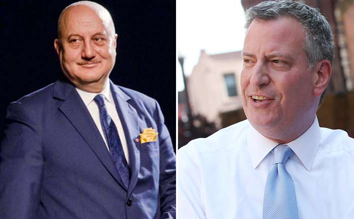 Anupam meets NYC Mayor