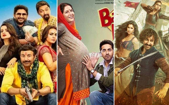 Box Office - Bhaiaji Superhit is a Disaster, Badhaai Ho has another good week, Thugs of Hindostan folds up