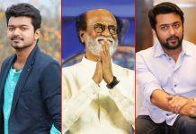 Cyclone Gaja: Tamil actors Rajinikanth, Vijay, Suriya donate to relief fund