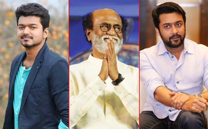 Cyclone Gaja: Tamil actors Rajinikanth, Vijay, Suriya donate to relief fund