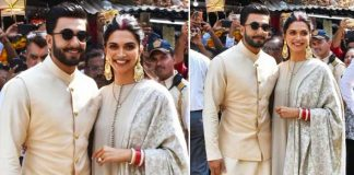 Deepika Padukone heads to Siddhivinayak Temple with husband Ranveer Singh post wedding