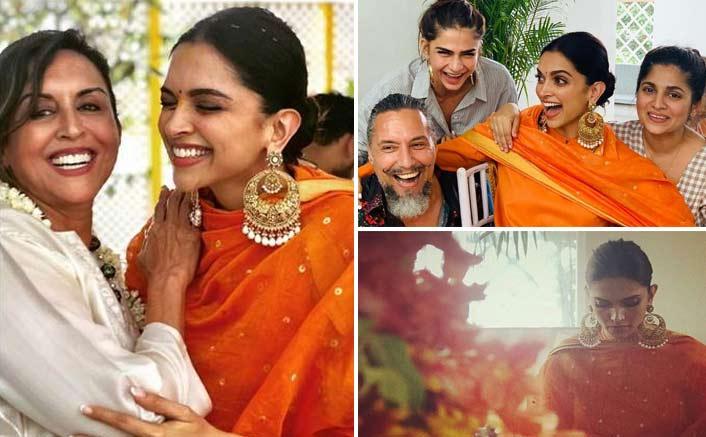 Deepika Padukone's pre-wedding celebrations begin with puja
