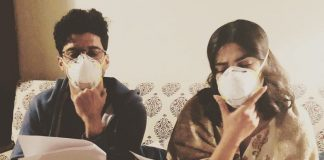 Farhan, Priyanka beat Delhi pollution with masks