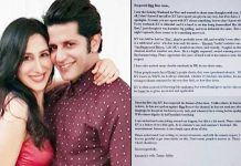 Karanvir Bohra's Wife Teejay Sindhu Writes An Open Letter To The Team Of Salman Khan's Bigg Boss!