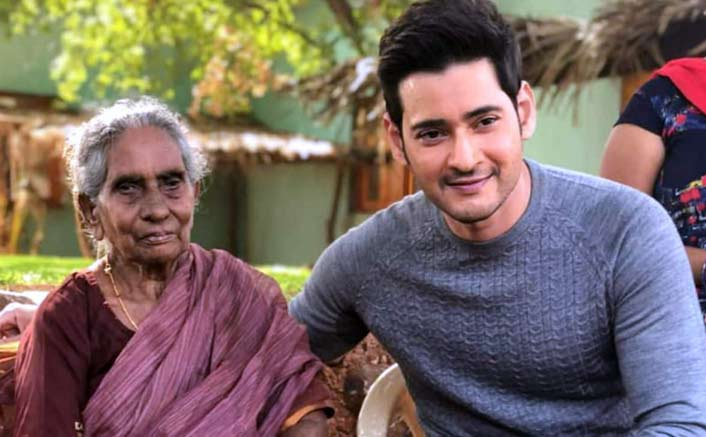 Mahesh Babu is delighted as he meets his 106 old fan all the way from Rajahmundry
