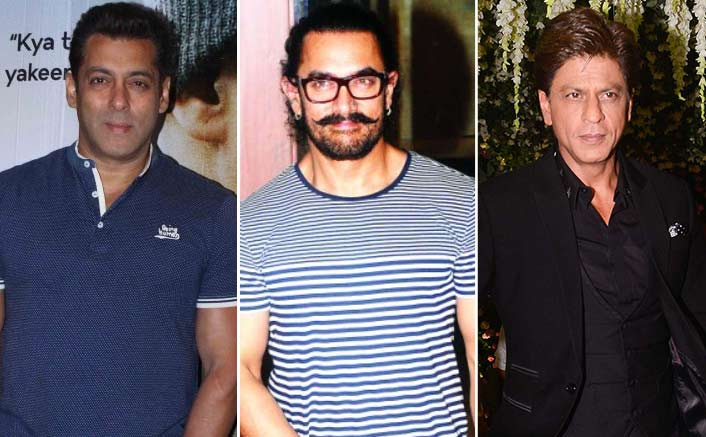 Never felt competitive with Salman, Shah Rukh: Aamir Khan