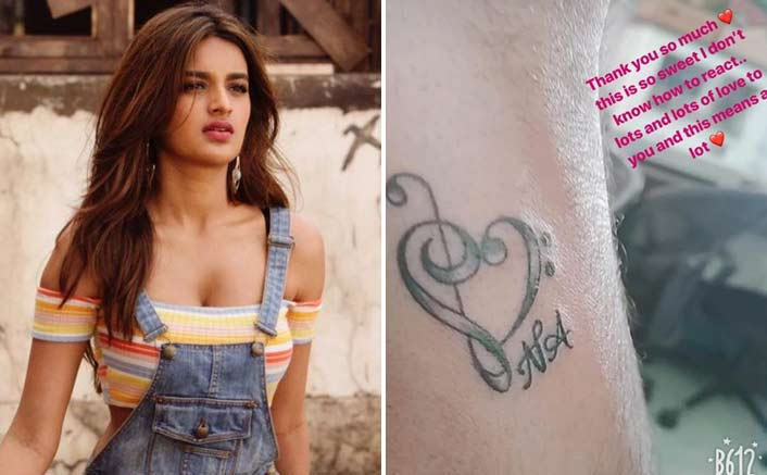 Nidhhi Agerwal moved by this gesture of a fan!