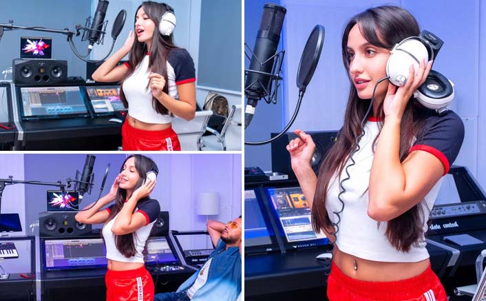 Nora Fatehi Records The Arabic Version Of Dilbar & We Just Can't Get Our Eyes Off Her