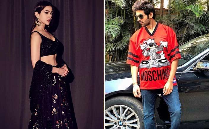 Sara Ali finds Kartik Aaryan damn cute ! Wants him to know her address