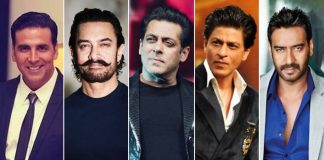 Shah Rukh Khan, Salman Khan, Aamir Khan, Akshay Kumar & Ajay Devgn In A Film - Which Genre You'll Prefer?