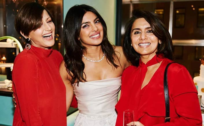 Priyanka Chopra Sets Sail for on Bachelorette Party Weekend