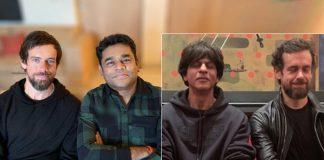 SRK, Rahman meet Twitter CEO