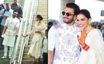 VIDEO: Deepika Padukone & Ranveer Singh Look Adorably HILARIOUS In This Airport Situation! Deets Inside