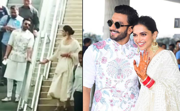 VIDEO: Deepika Padukone & Ranveer Singh Look Adorably HILARIOUS In This Airport Situation! Deets Inside