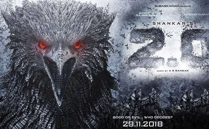 Rajinikanth-Akshay Kumar's '2.0' rakes in Rs 500 crore worldwide