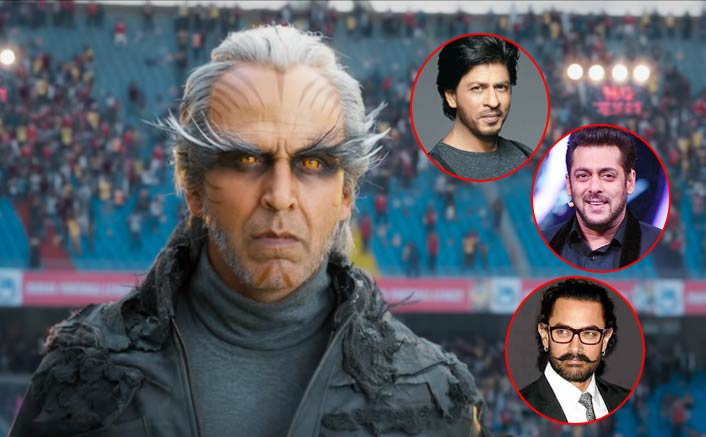 2.0 Box Office: 3 Day MAMMOTH Total VS The Top Runners Of Salman Khan, Shah Rukh Khan & Aamir Khan!