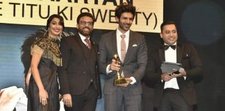 Kartik Aaryan wins BIG at the Masala UAE Awards 2018
